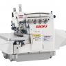 Baoyu BML-8800EXT-4 | High speed four-thread computer industrial overlock with double material transport