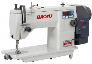 Baoyu BML-20UA2 | Industrial zigzag sewing machine with one-step puncture