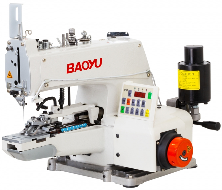 Baoyu BML-373D | Electromechanical chain stitch button sewing machine