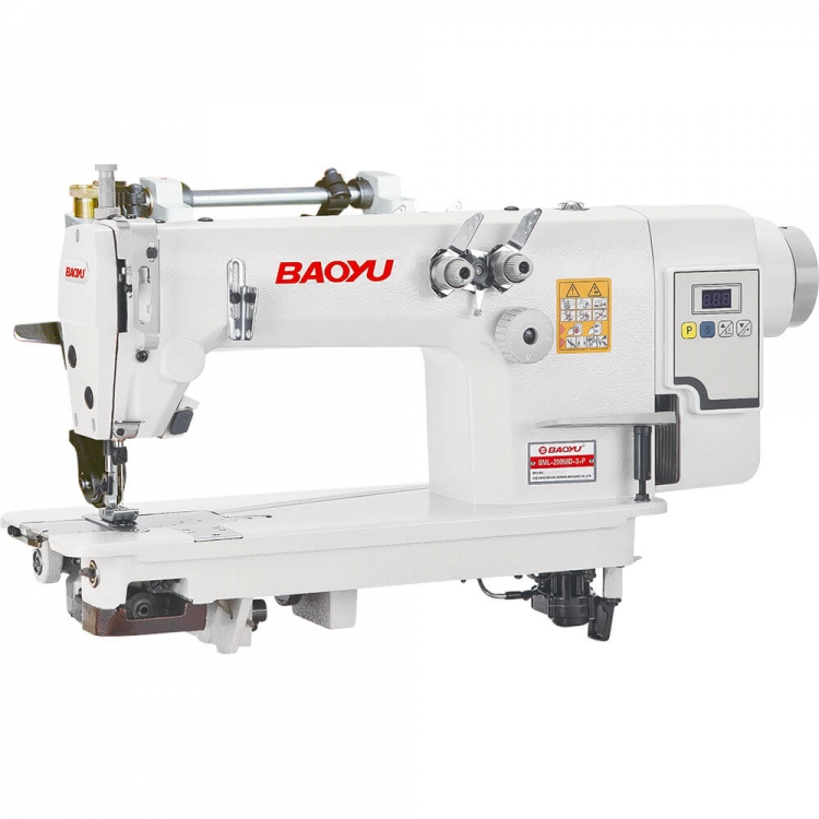 Baoyu BML-20058D-3P | Direct-drive chain stitch sewing machine with puller