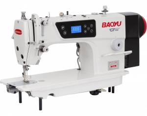 Baoyu GT-188 | Universal industrial sewing machine with automatic thread trimming