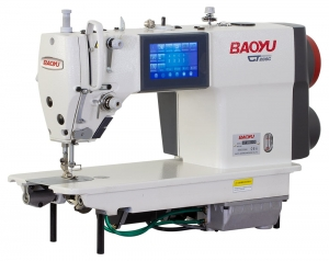 Baoyu GT-288C-D4 |  Computerized universal industrial sewing machine with touch display