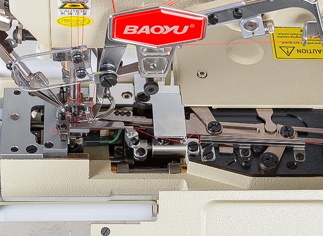 Обрезка нитей распошива Baoyu BML-787-L200-AST-DS/H