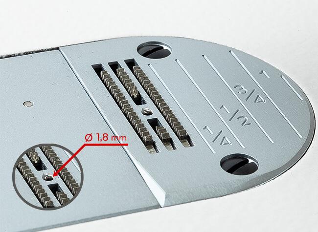Игольная пластина швейной машины Baoyu GT-180