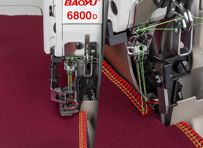 Обрезка материала оверлока Baoyu BML-6800D-4