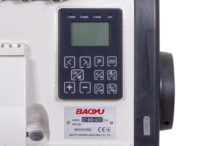Управление оверлоком Baoyu GT-700D-4