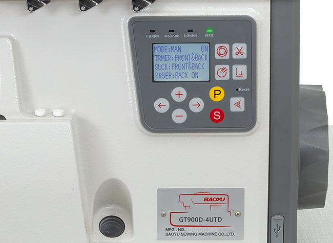 Керування оверлоком Baoyu GT-900D4-UTD