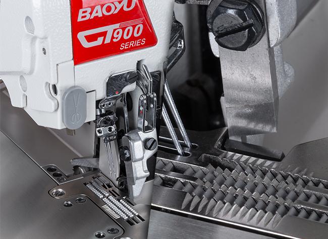 Переміщення матеріалів оверлока Baoyu GT-900D-4