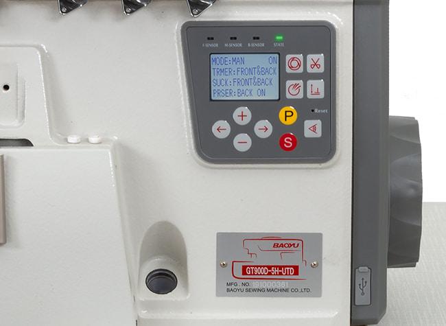 Керування оверлоком Baoyu GT-900D5-H-UTD