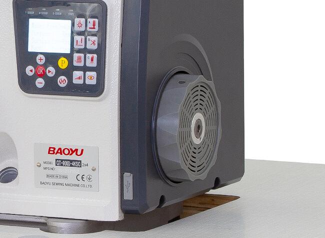 Серводвигатель оверлока Baoyu GT-900D-4KSC