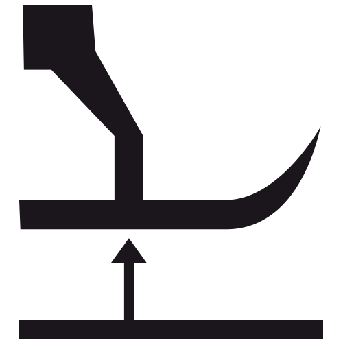 Высота подьема лапки