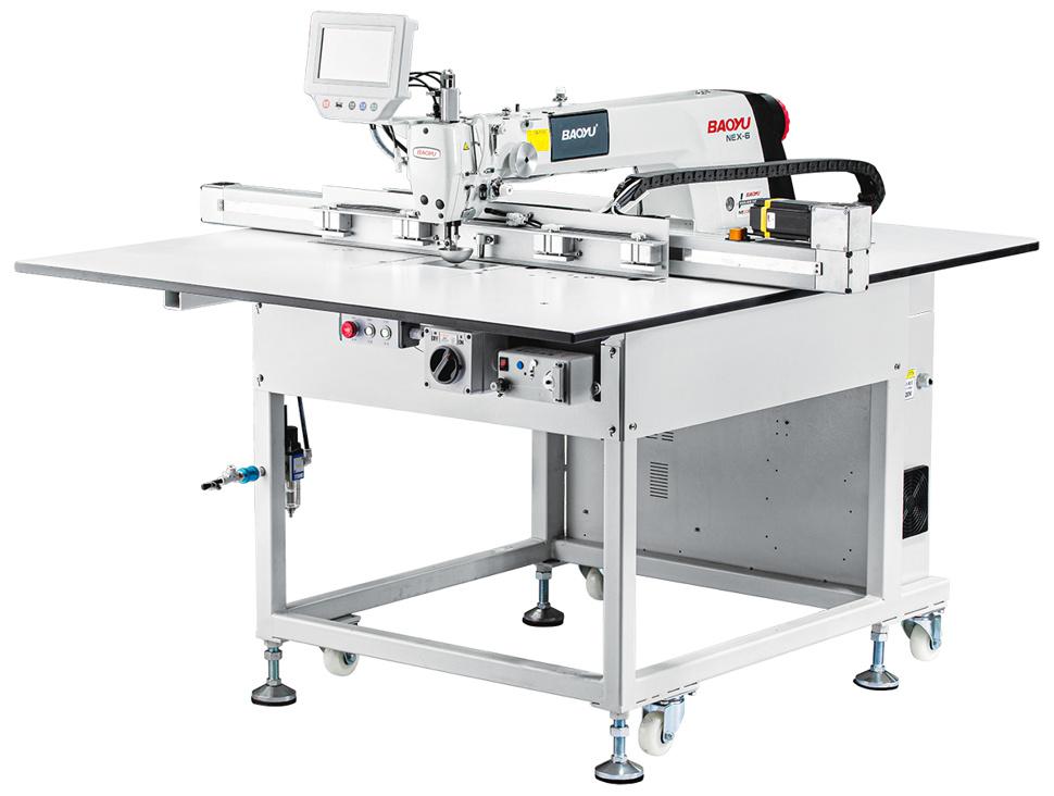 Автоматическая шаблонная швейная машина Baoyu NEX6-4580
